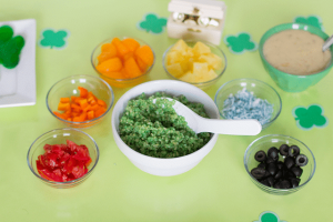 A Fun St. Patrick's Day Rainbow Dinner Meal Plan