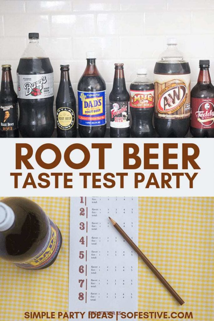 Root-beer-taste-test-summer-party-ideas