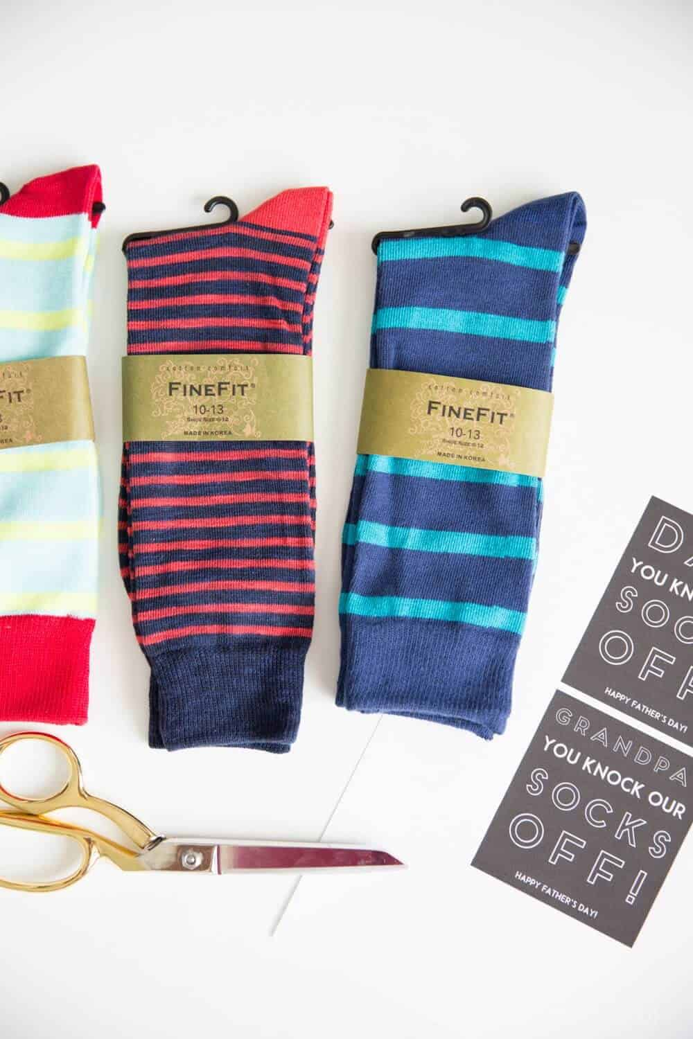 Father's Day Gift Idea- You Knock Our Socks Off-3