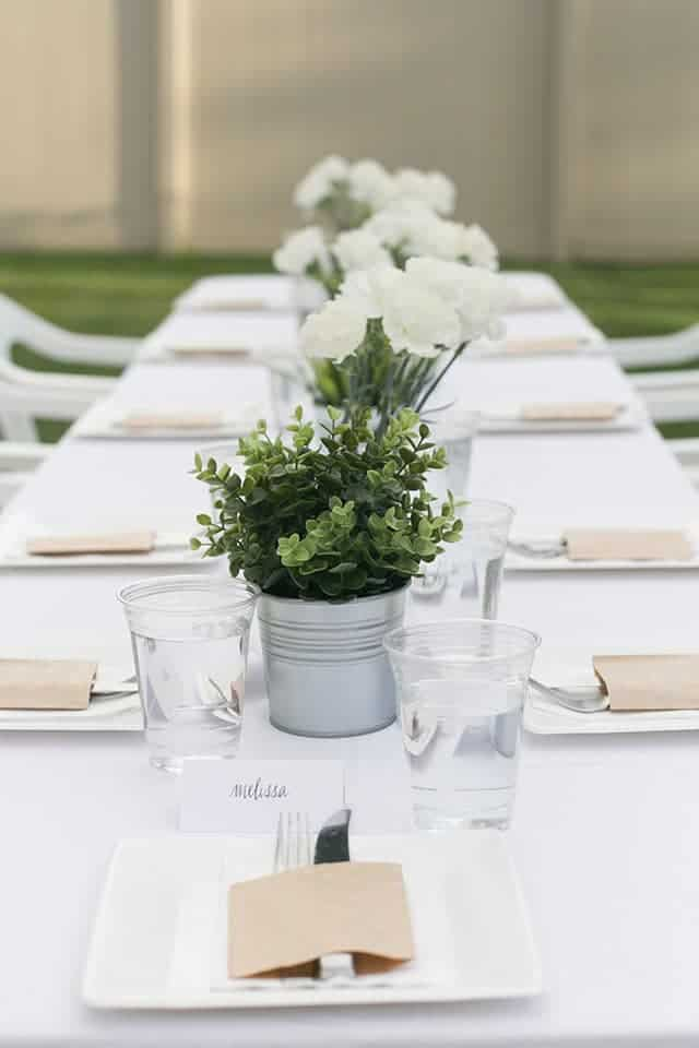 diner en blanc table ideas