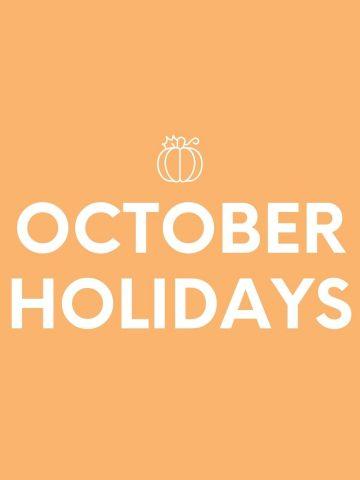 OCTOBER-HOLIDAYS