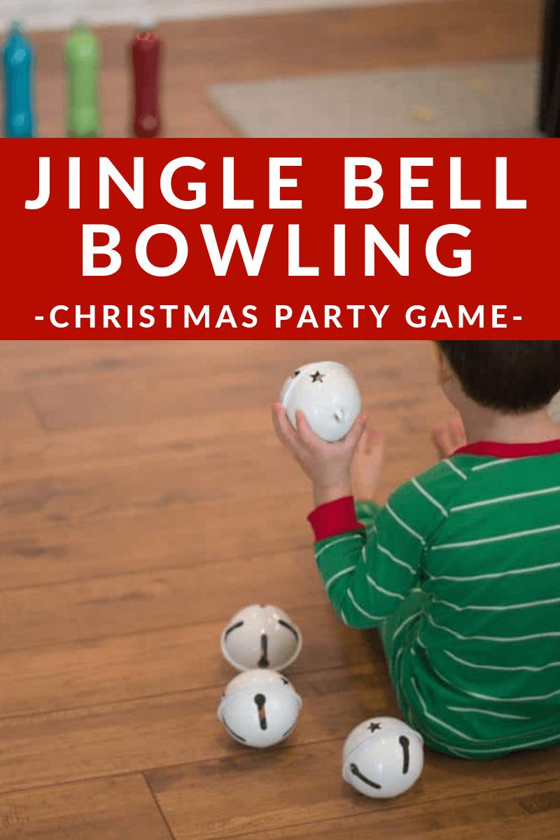 Christmas Game Idea- Jingle Bell Bowling