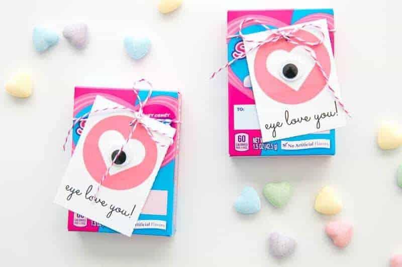 Eye Love You- Valentine's Day Printables