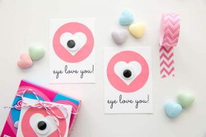 Eye Love You | Free Printable Valentine Tags