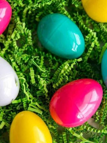 This is a unique way of doing an Easter Egg Hunt. Hint: It's not all about candy!