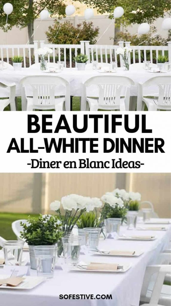 How to Throw an All-White Dinner Party- Diner En Blanc Ideas