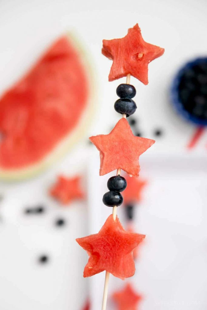 Star Spangled Skewers- 4th-of-July-Food-Ideas