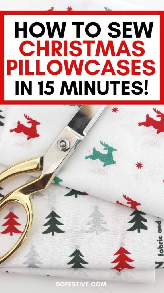 Pillowcase-Tutorial-Burrito-Method-Christmas Pillowcases