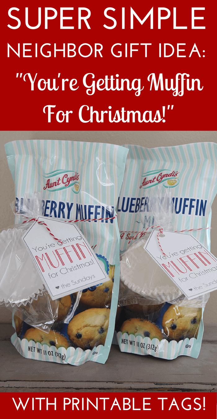 Simple Christmas Neighbor Gift Idea- Christmas Gift Idea