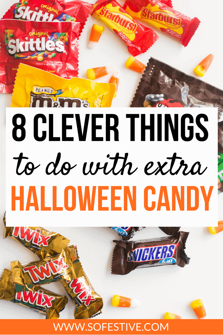 8 Clever Ways to Use Up Your Halloween Candy-