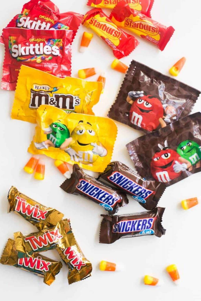 Halloween Candy-donate extra candy to troops