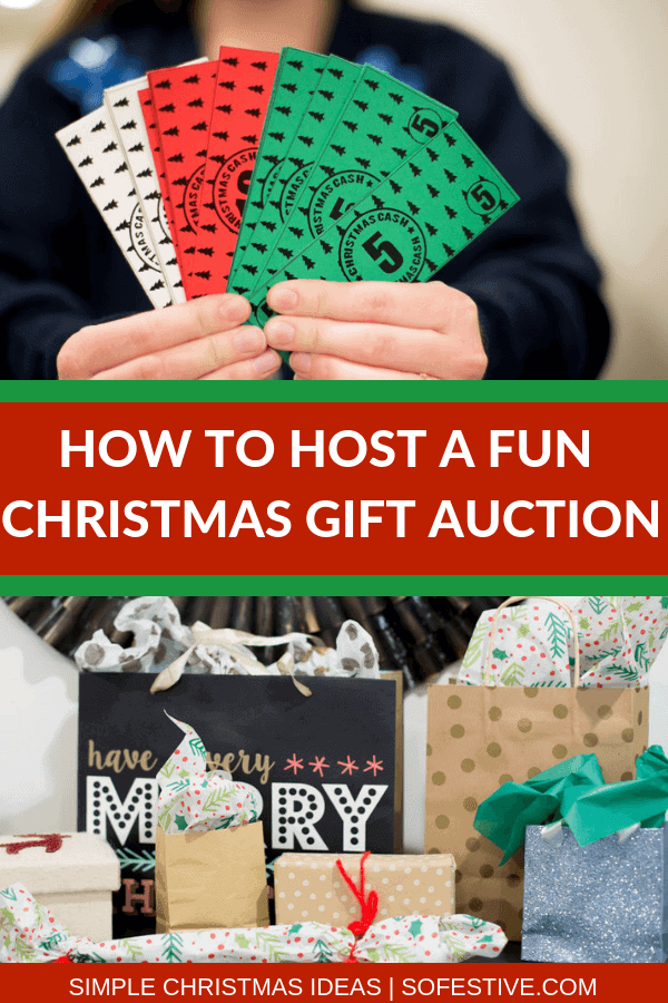 CHRISTMAS GAME- GIFT AUCTION- CHRISTMAS PARTY IDEA