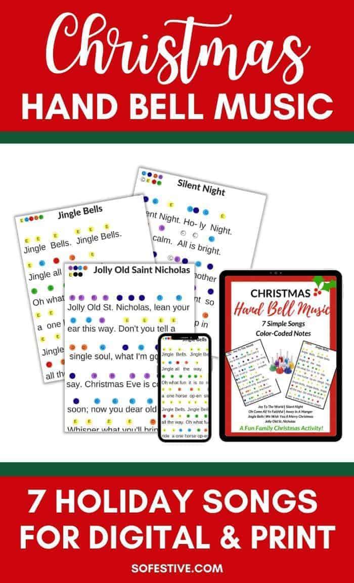 Christmas Hand Bell Songs Music