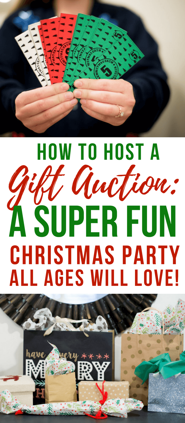 Christmas Party Gift Auction- Christmas Party Game Idea-White Elephant Exhange Ideas