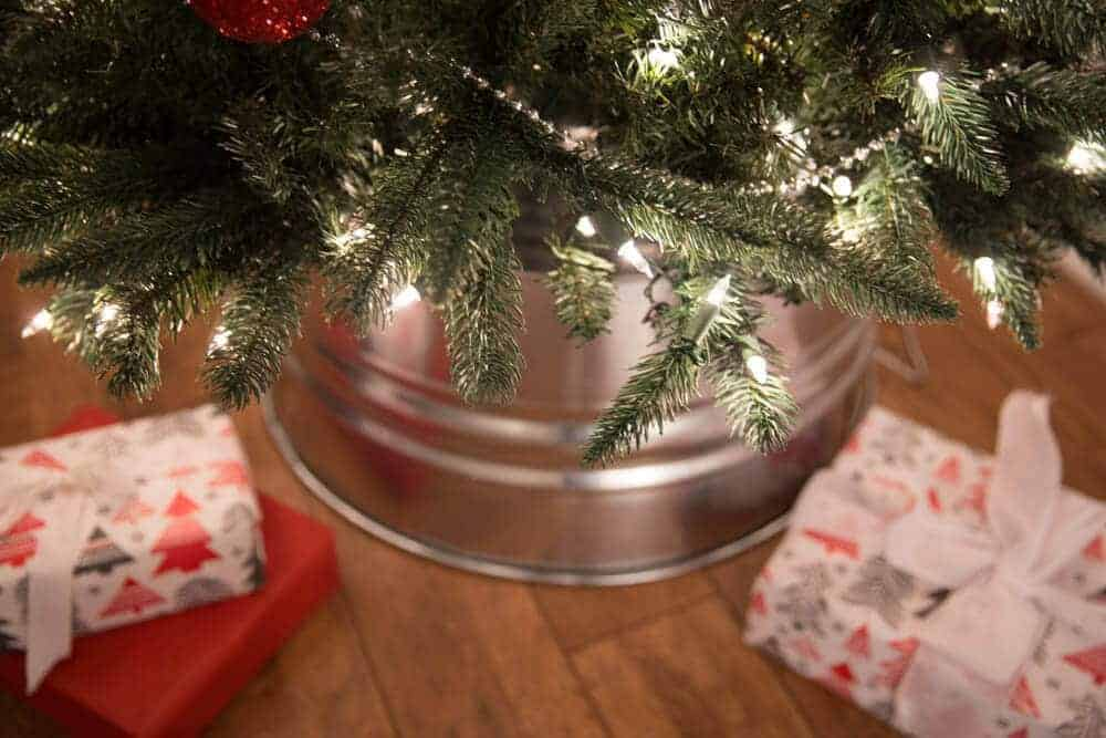 DIY Galvanized Tree Collar Tutorial-5
