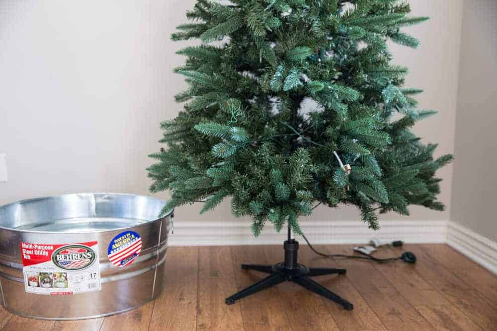 DIY -Galvanized -Tree- Collar- Tutorial