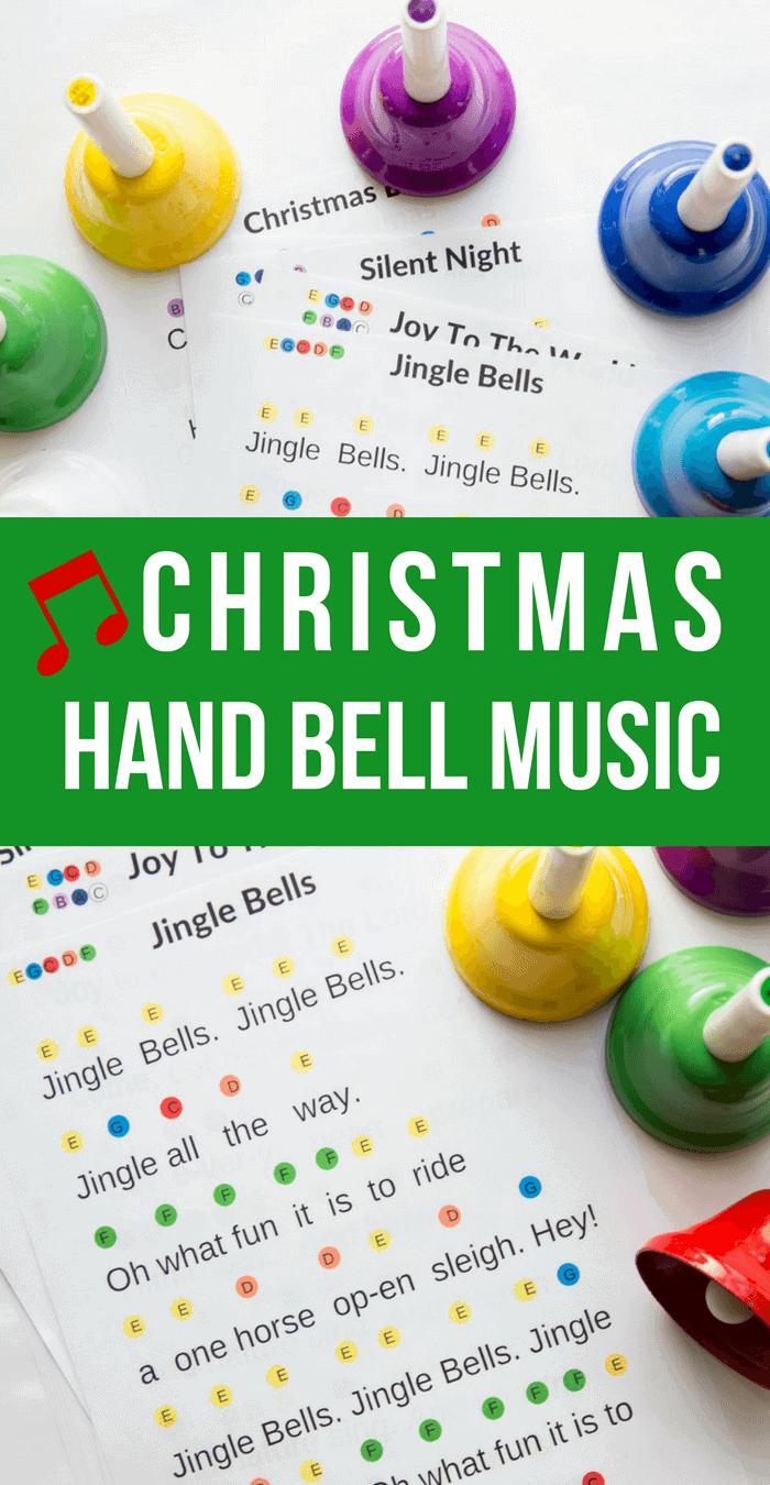 Printable Christmas Hand Bell Music