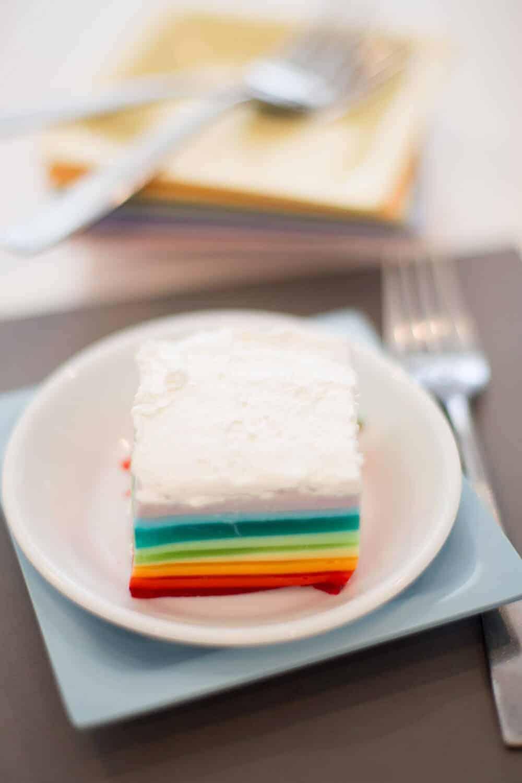 Rainbow- Jello- Recipe