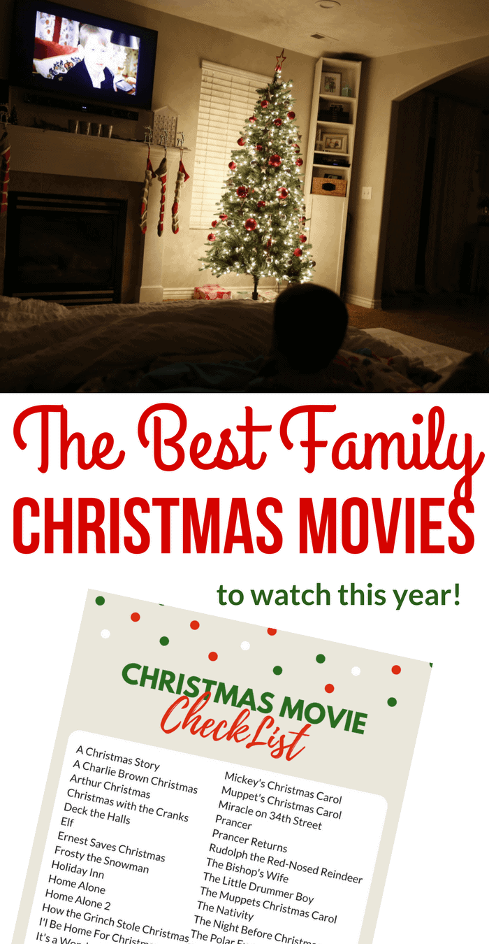 The Best Family Christmas Movies- Christmas Movie List