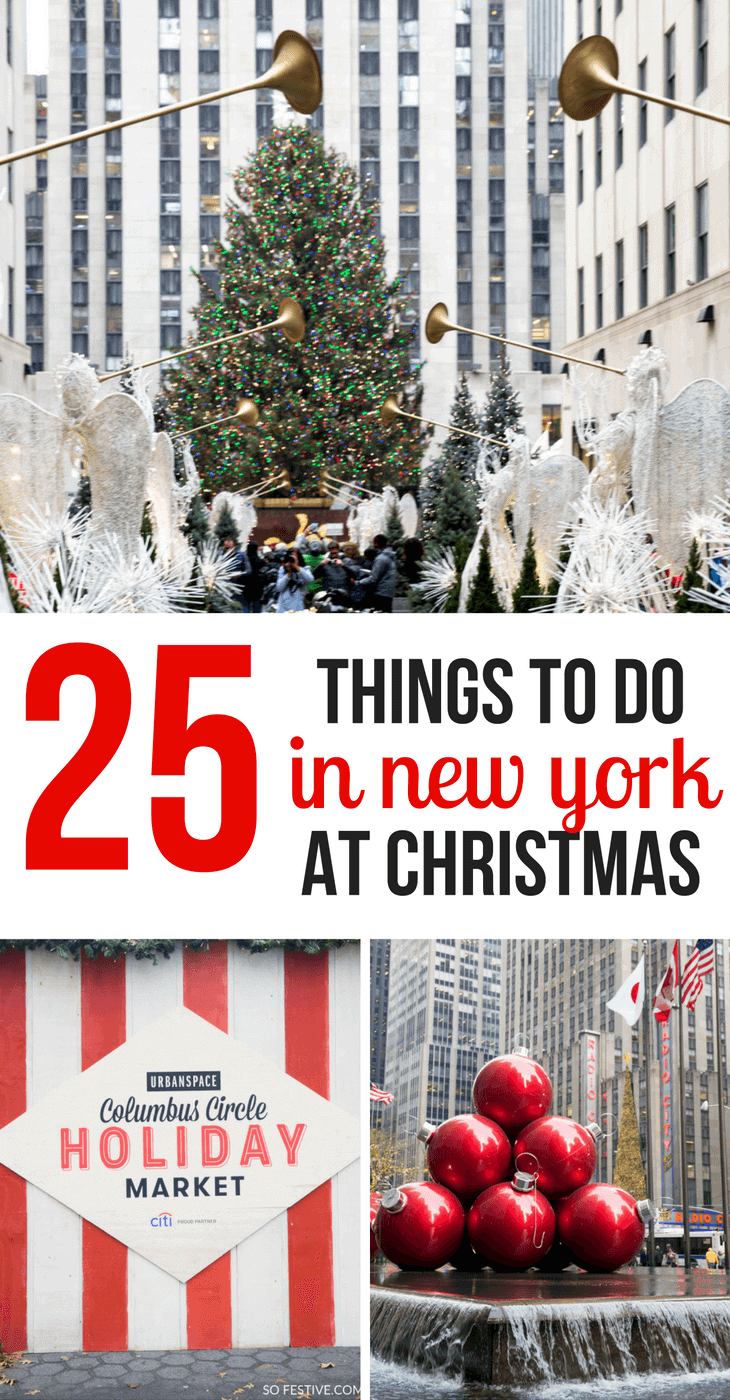 Christmas Market New York City.25 Things To Do In New York City At Christmas So Festive