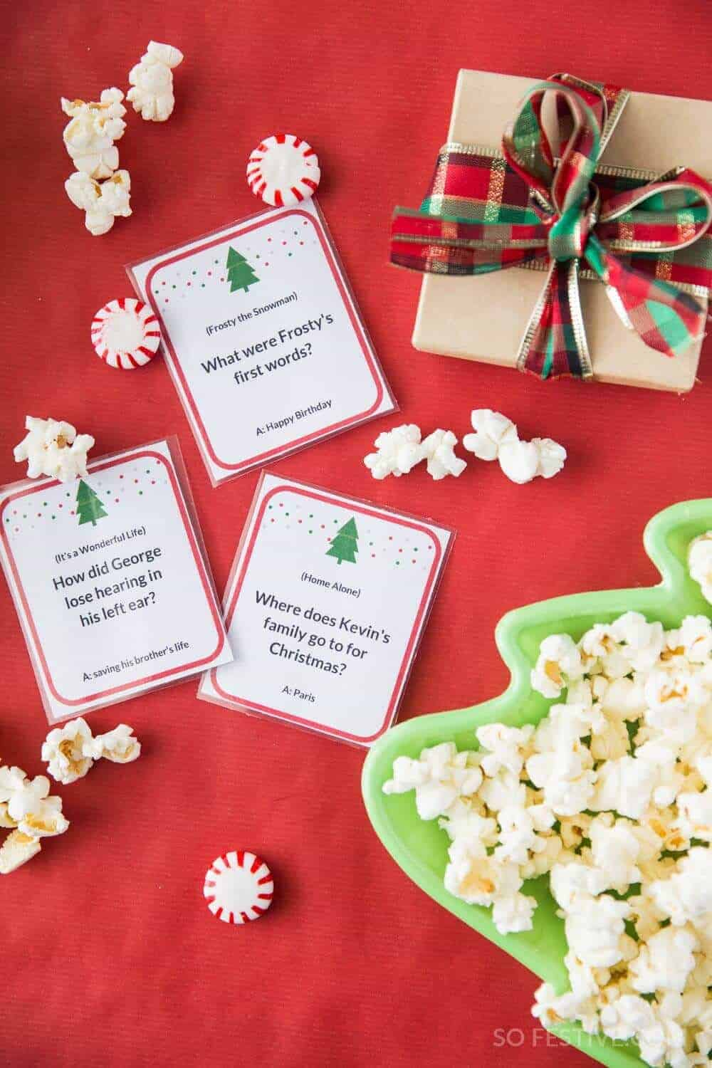christmas movie trivia game - Christmas Party Games For Large Groups