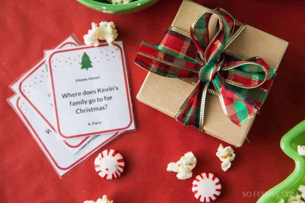 christmas movie trivia game christmas party game idea so festive