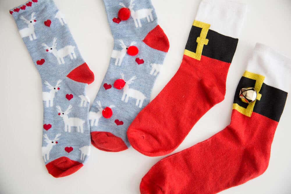 how to throw an ugly christmas sock party