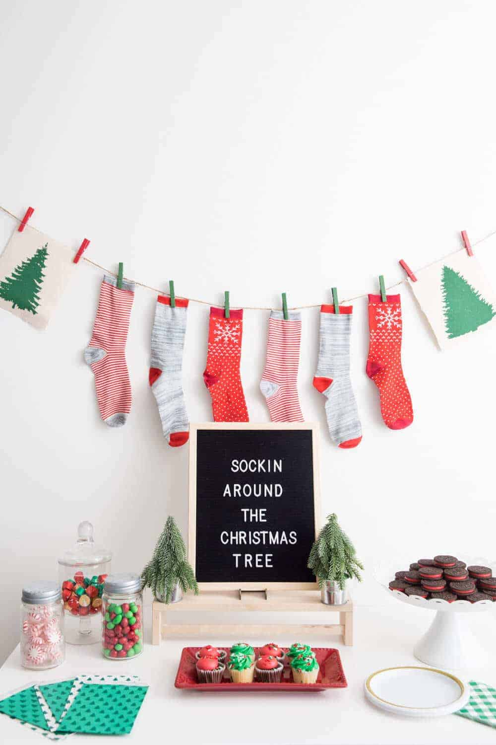 Tacky Christmas Sock Party- Ugly Sweater Party Alternative! - So ...