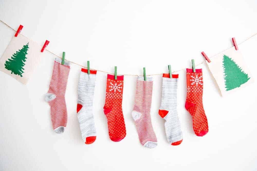 Christmas Party Idea- Sockin' Around the Christmas Tree-14