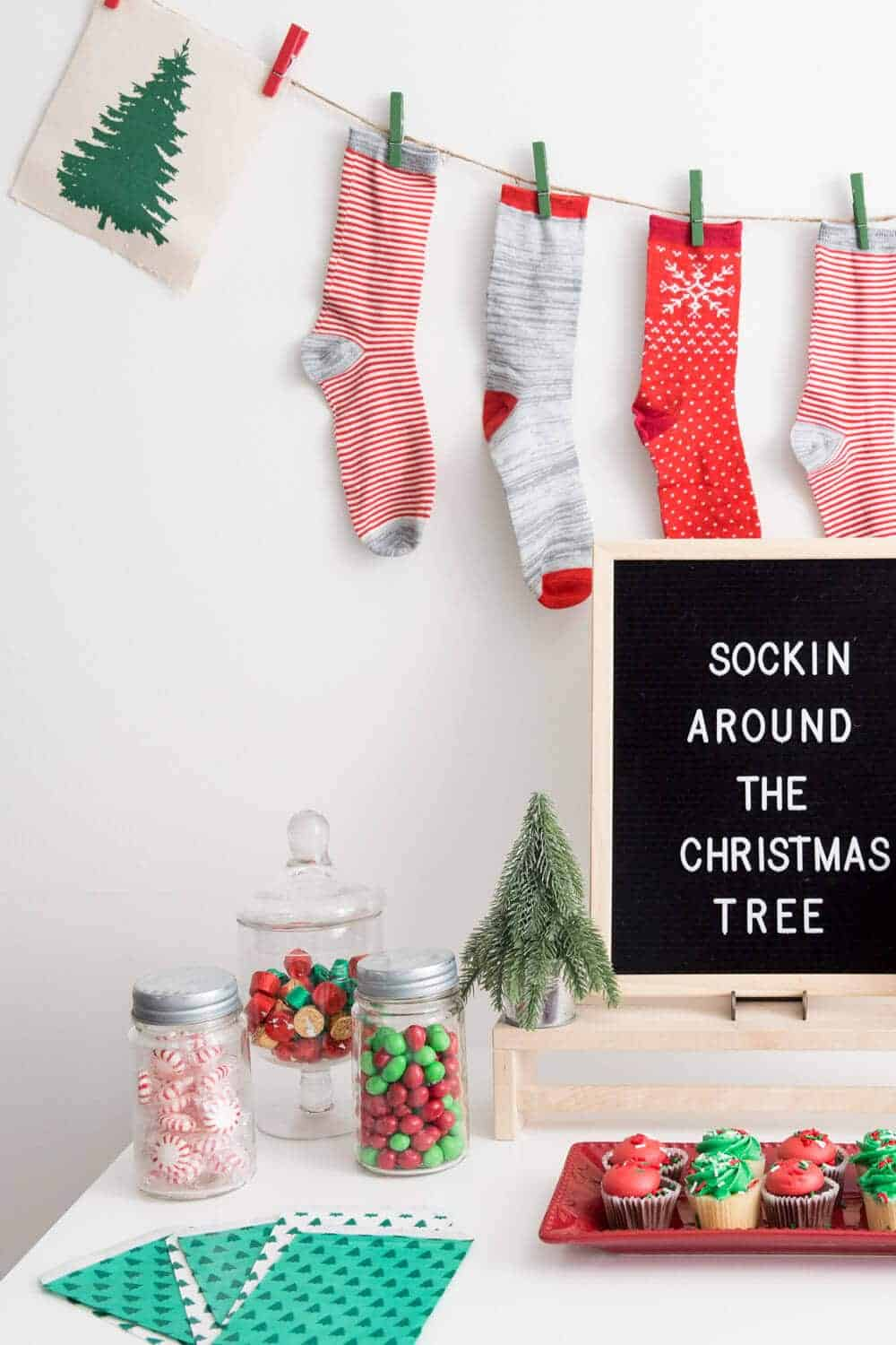 Christmas-party-game-idea- A Sockin' Around the Christmas Tree