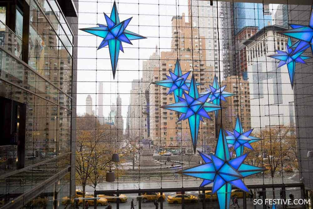 New York City Christmas- Columbus Circle -0733
