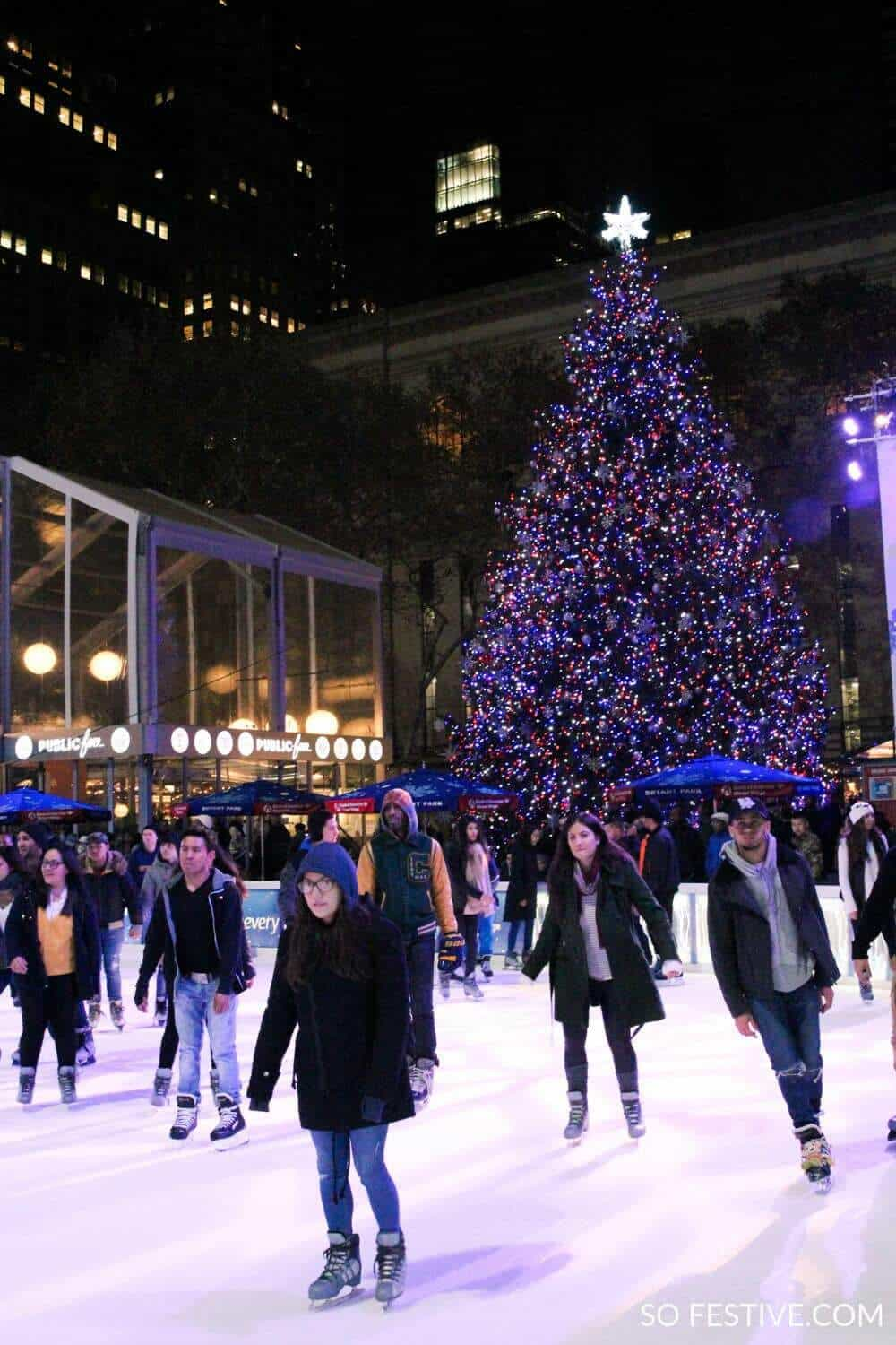 New York City Christmas- Ice Skating Rink