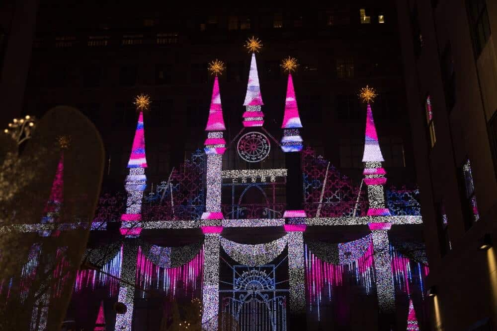 Watch The Saks Fifth Avenue Light Show*