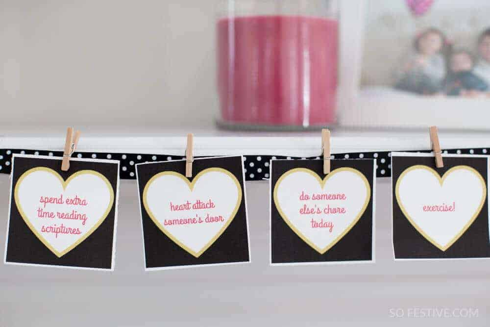 14 Days of Love- A Valentine's Day Challenge + Printables