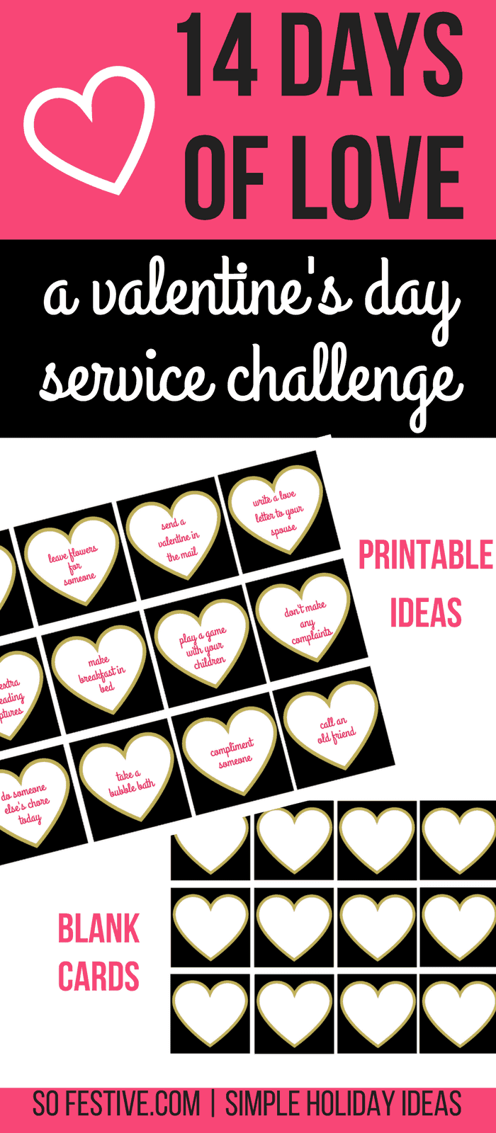 14 Days of Love- Valentines Day Service Challenge