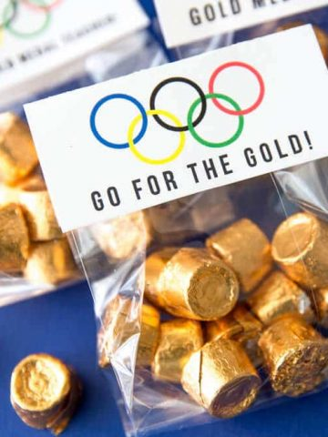 Olympic Party Ideas- Pary Favors