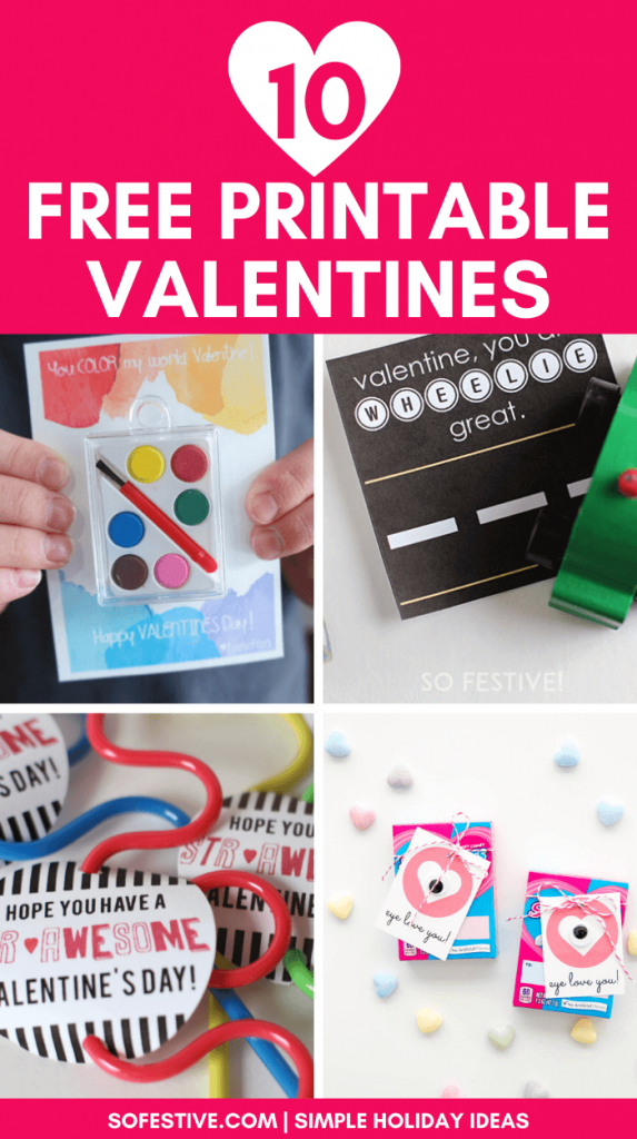 free printable valentines for valentines day