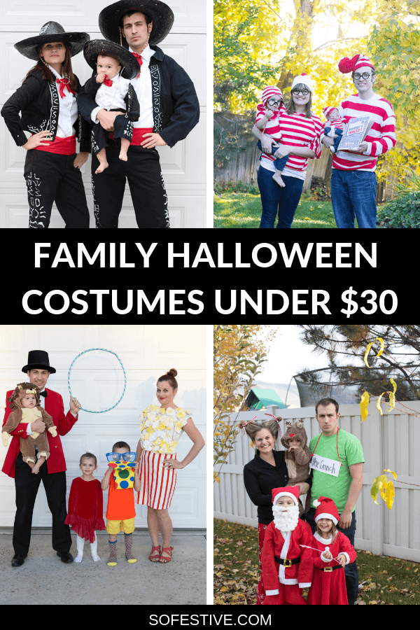FAMILY HALLOWEEN COSTUMES UNDER $30 (1)