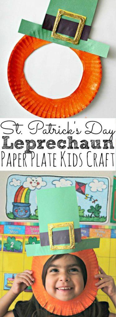 St.-Patricks-Day-Leprechaun-Paper-Plate-Kids-Craft-For-March
