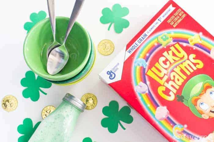 St. Patrick's Day Traditions- gifts from leprechaun