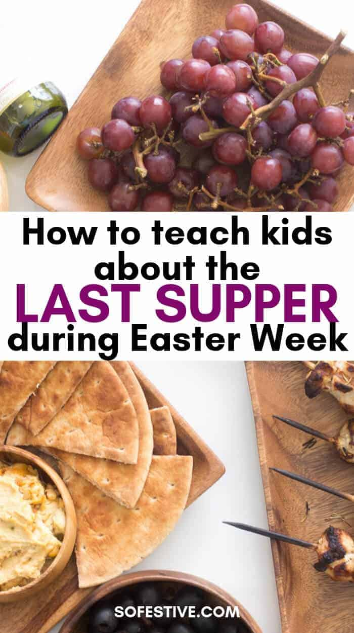 Easter Week-Last Supper-Passover Easter Tradition