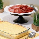 funeral-potatoes-glazed-ham