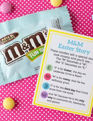 M&M Easter Poem- Easter Gift Printable Tag (2)