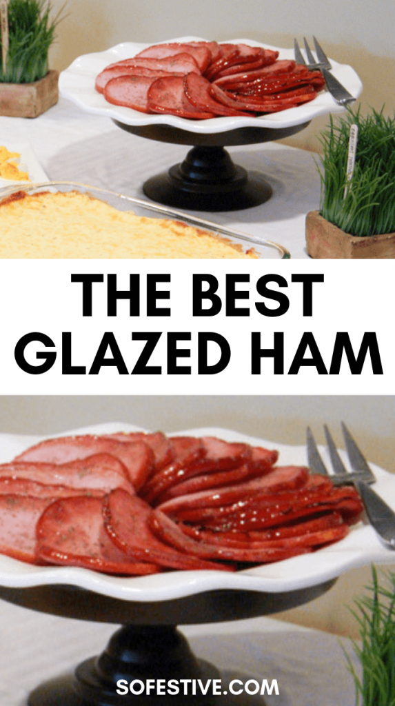 best brown sugar glazed ham recipe