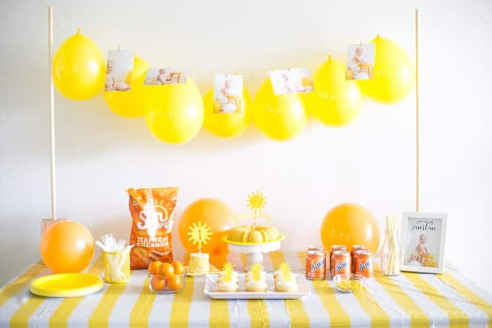 you-are-my-sunshine-party-ideas