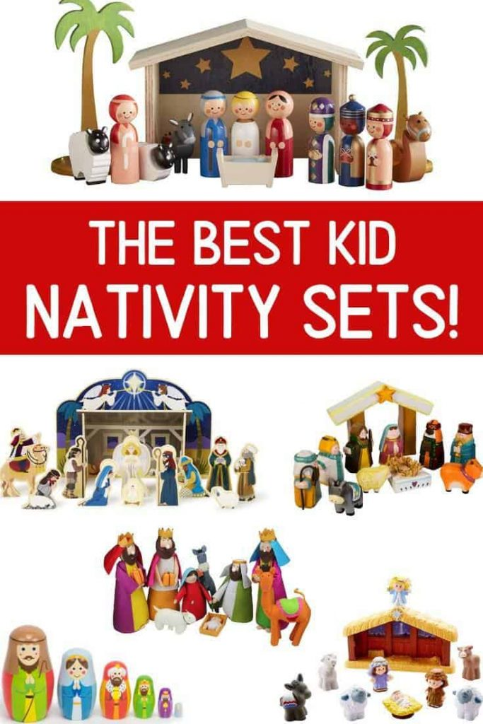 25 BEST Nativity Sets For Kids 2021 (Made For Play!) | So Festive!