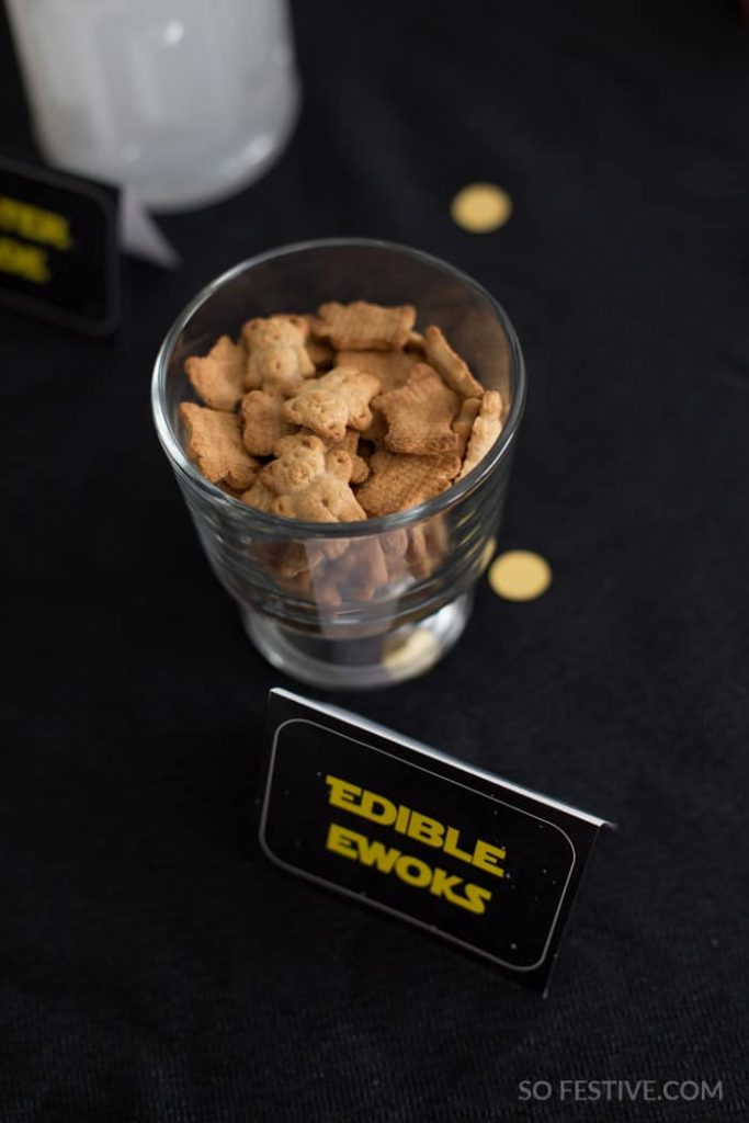 ewoks-star wars party food