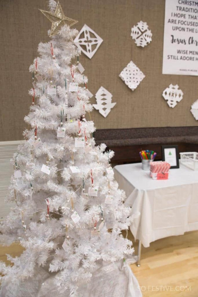 White Christmas Party Ideas Complete Party Plan So Festive