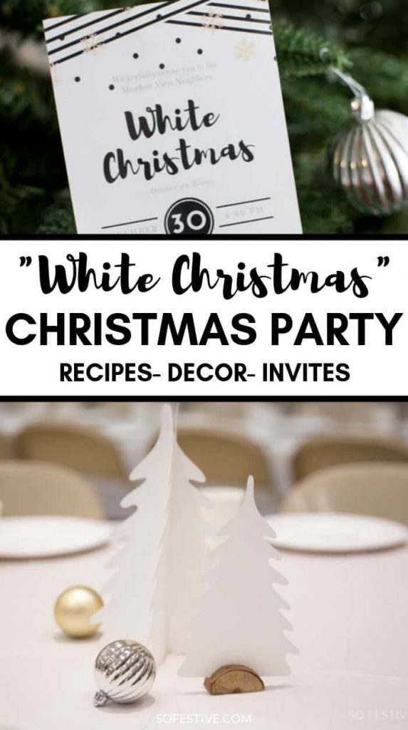 White Christmas Party IDeas