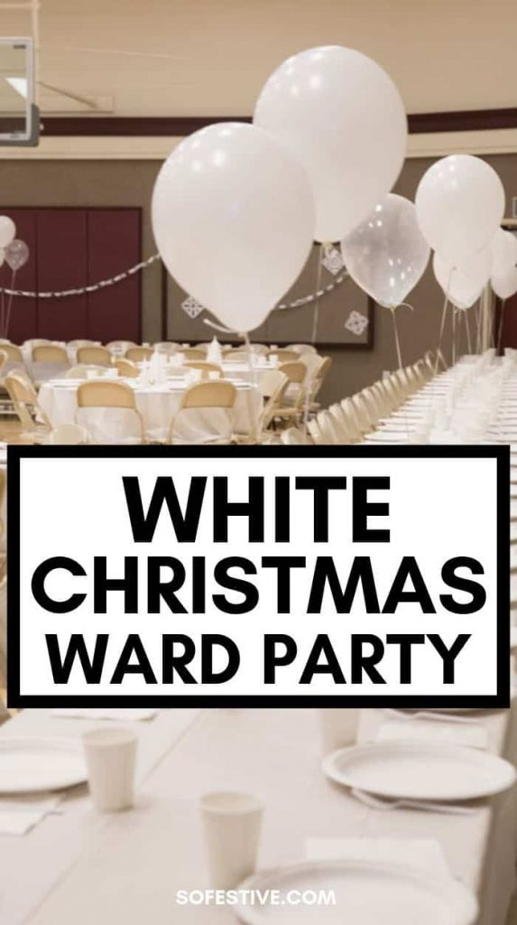 White Christmas Ward Party